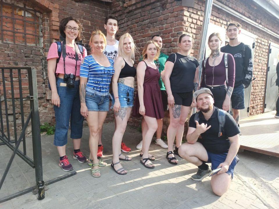 участники тату фестиваля в Екатеринбурге