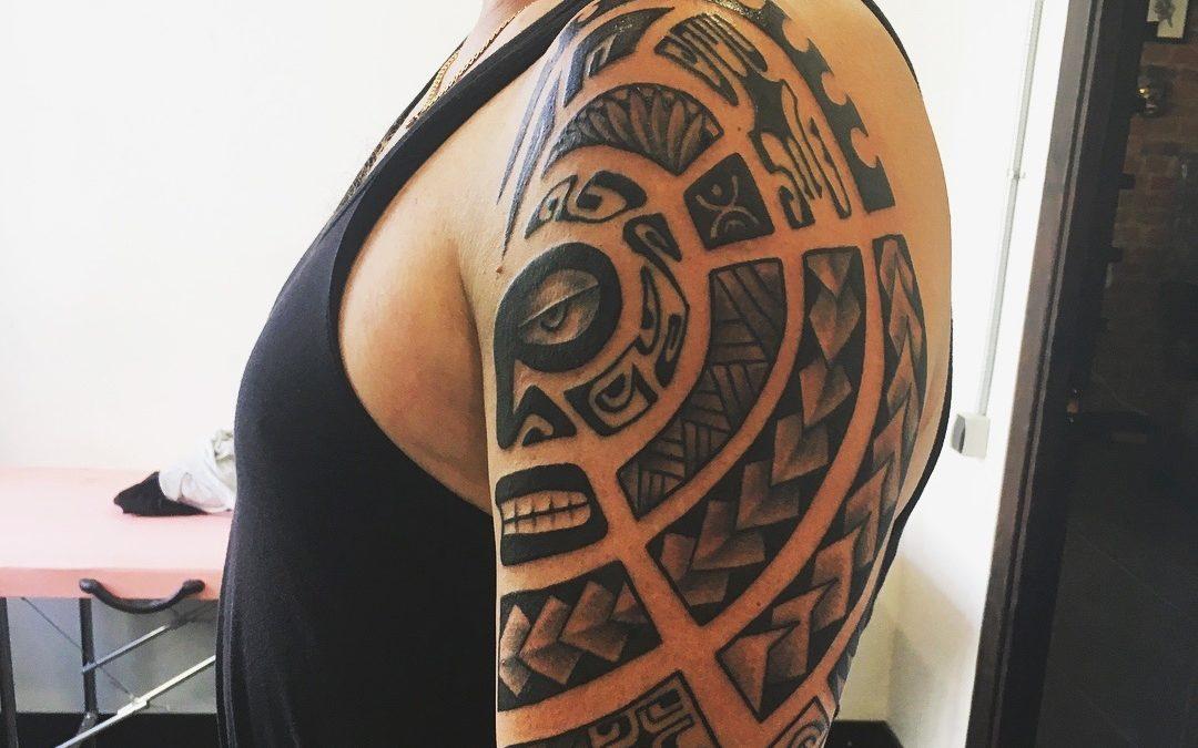 Пример татуировки Полинезия